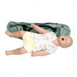 Manichino di neonato per l'addestramento al soffocamento - Erler Zimmer R10141