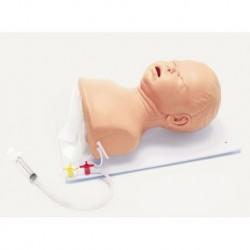 Manichino di Bambino per l'addestramento avanzato all'intubazione Erler Zimmer R10192