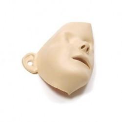 Pelle del viso di ricambio, per manichino da rianimazione cardiopolmonare