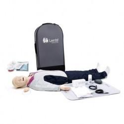 Laerdal Resusci Anne QCPR - Manichino per rianimazione QCPR - Corpo intero AED con vie aeree R20096