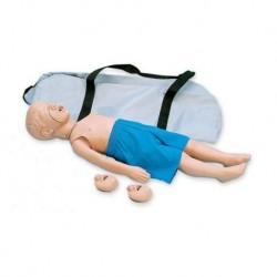 Addestramento alla rianimazione cardiopolmonare, manichino di bambino, 3 Anni Erler Zimmer R10055