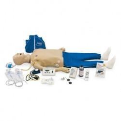 Paziente in condizioni critiche, simulatore medico, adulto, modello di lusso Erler Zimmer R10153/2