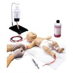 Simulatore di Neonato per l'addestramento all'accesso venoso Erler Zimmer R10009