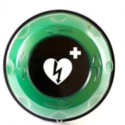 Teca Allarmata Rotaid Solid Plus Heat, riscaldata, per esterni, per defibrillatore LIFEPAK CR Plus