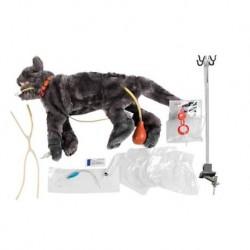 Manichino di gatto per addestramento al soccorso in condizioni critiche - VET4110